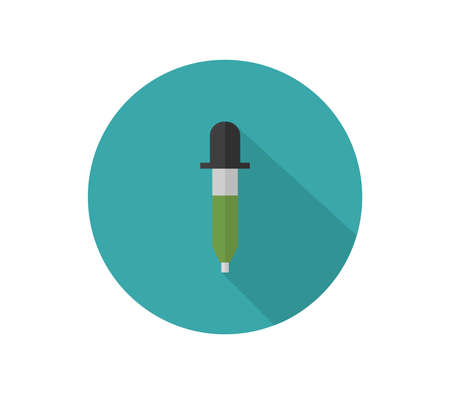 pipettes icon  illustration