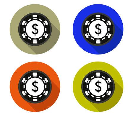 poker symbol illustration