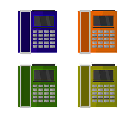 office phone illustration