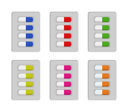 pills graphic illustration