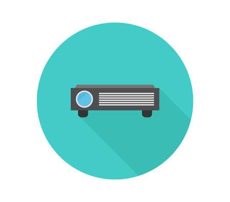 projector graphic  illustration Иллюстрация