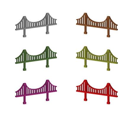 bridge graphic  illustration