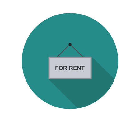 for rent graphic illustration