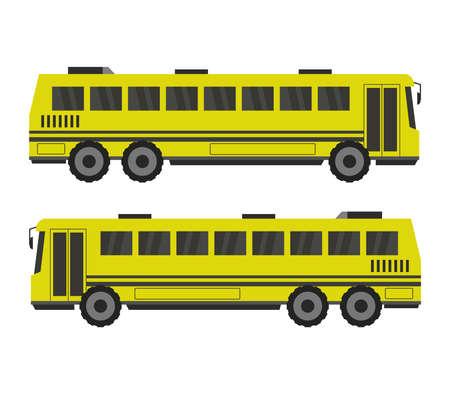 school bus Vektoros illusztráció