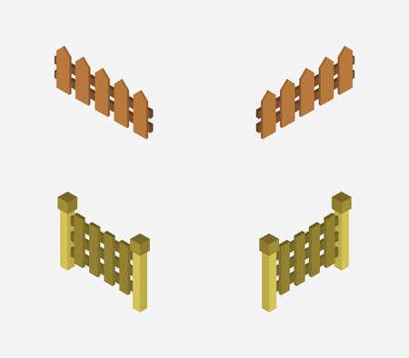 isometric fence