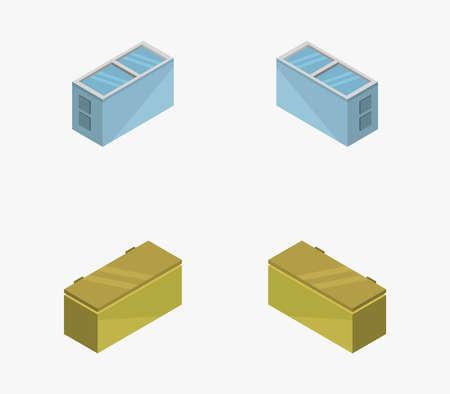 isometric freezer