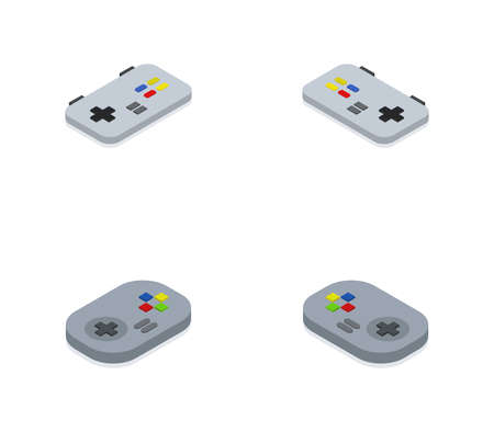 isometric game pad
