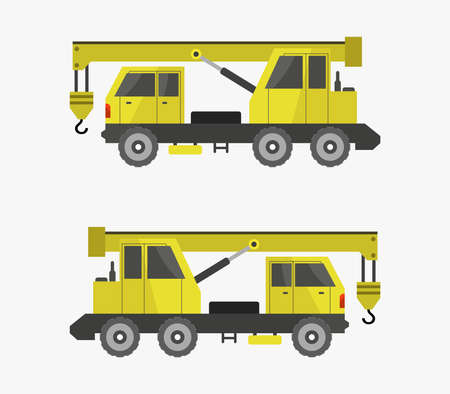 tower crane illustration