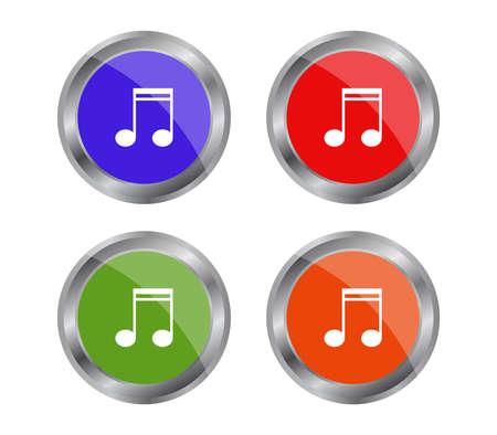 web button Ilustración de vector