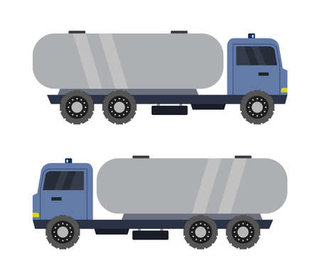 truck with tanker