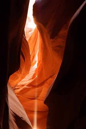 canyon walls: Antelope Canyon near Page, Arizona