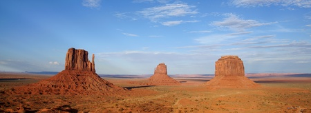 Landscape of Monument Valley in USA photo