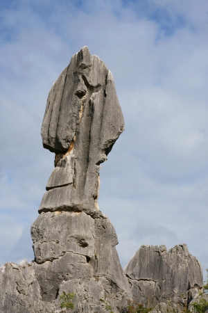 kunming: the stone forrest near Kunming in China