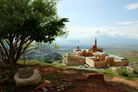 agri: Landscape of Ishak Pasha near Dogubeyazit, Turkey