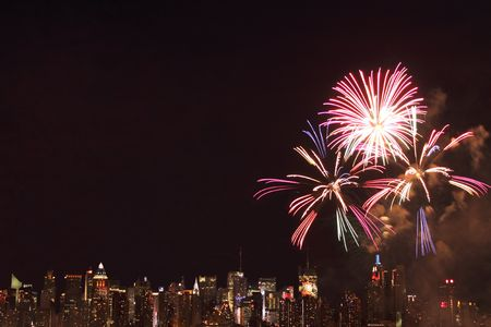 Independence Day 2009 - Fireworks in New York