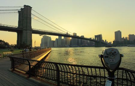 telescopes: Brooklyn Bridge