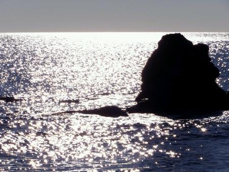 Sunrise in rhodos Reklamní fotografie