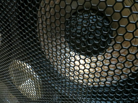 Bass guitar cabinet speakers