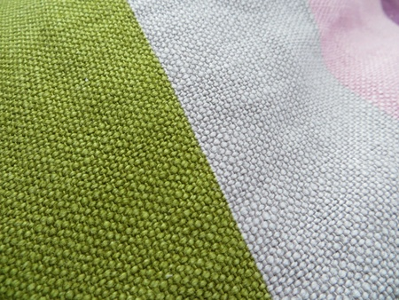 cotton fabric: Multicolor fabric of a pillow