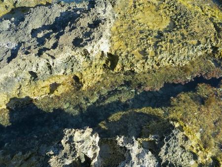 Rhodos beach of rocks