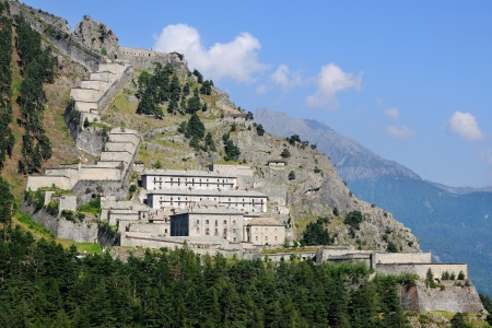 barracks: Fenestrelle fortress - 1728 to 1850 - Italy