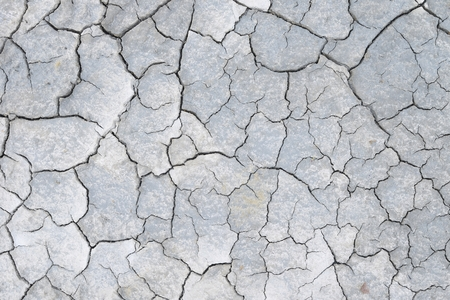 barrenness: Close up of a dry soil.