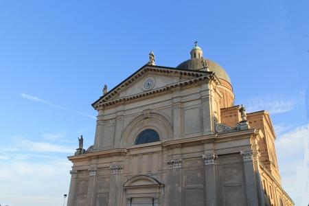 Cathedral  Calcio in the province of Bergamo photo