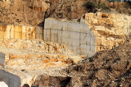 marble quarries photo