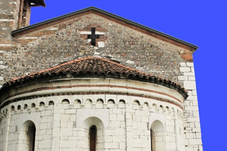 humanistic: medieval church in Italy