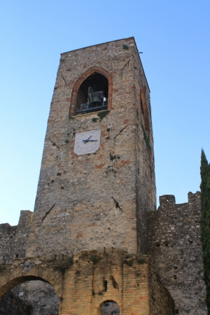 humanistic: bell tower of the Middle Ages