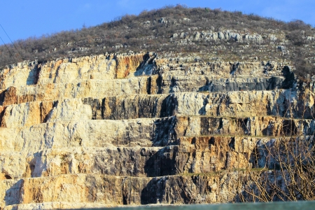marble quarries in northern Italy