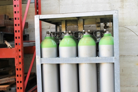 pack gas cylinder  photo