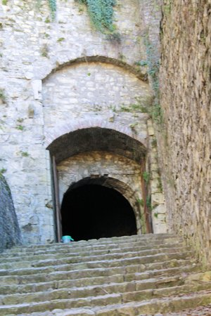 secret passage in the castle