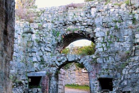 ancient defensive walls