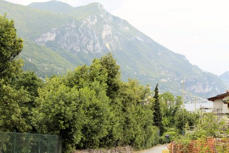 landscape of the hills of Lake Garda in Italy  photo