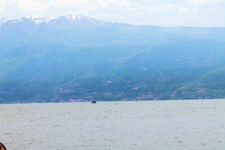 Garda lake in northern Italy photo