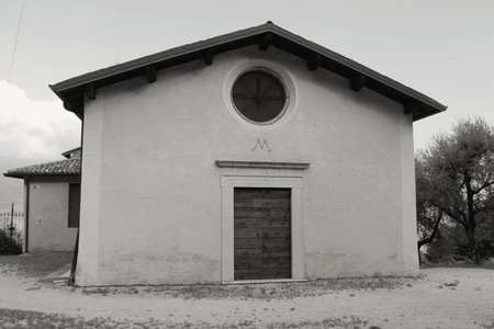 medioeval: ancient  sanctuary in Italy