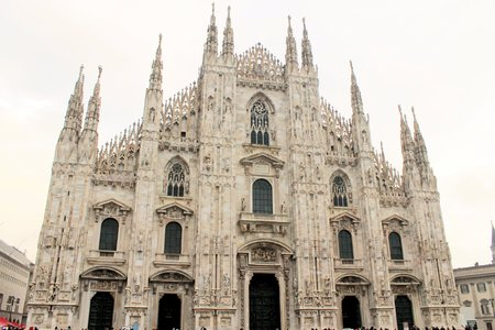 Milan Cathedral,  Lombardy, Italy photo