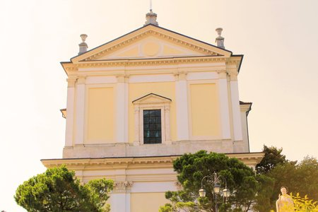 maderno: church in Maderno, town on Garda lake in Italy
