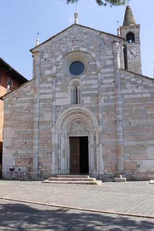 maderno: church in Maderno on Garda lake in north Italy