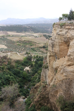 View of Ronda in Andalusia in southern Spain Stock Photo