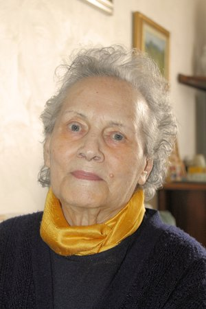 ninety: Portrait of a ninety years old grandmother