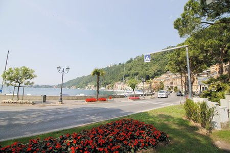 maderno: town of Maderno on Garda lake in northern Italy