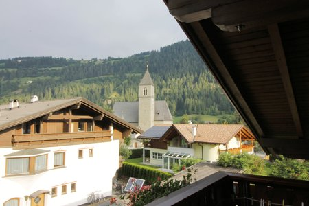 Typical architecture of the town of Sterzing in South Tyrol in Italy