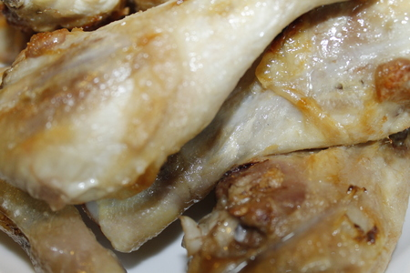 chicken thighs Stock Photo