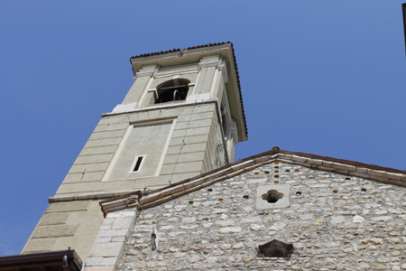 church in Maderno on Lake Garda in north Italy