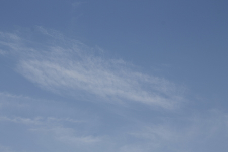 The vast blue sky and clouds sky. blue sky background with tiny clouds The blue sky and clouds sky.