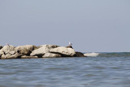 Landscape sky and Adriatic sea in Italy Zdjęcie Seryjne