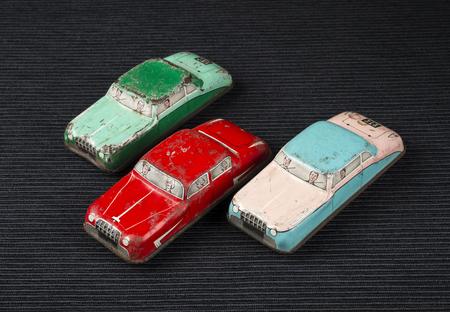 carritos de juguete: Vintage peque�os coches de juguete