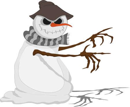 jack frost: Una amenaza Jack Frost llega con sus ramas para atrapar a alguien